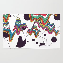 Psychedelic Planet Rug