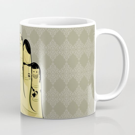 The finger family Mug
