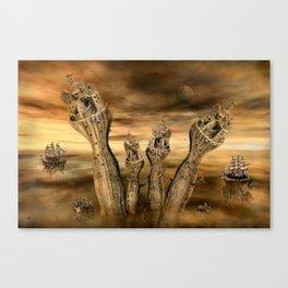 Andere Welten Canvas Print