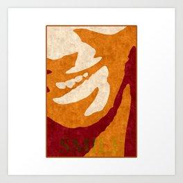 S M I L E Art Print