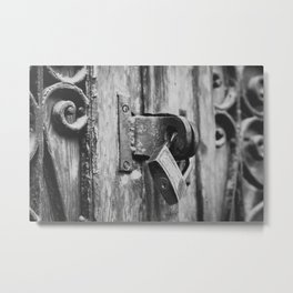 Locked Metal Print