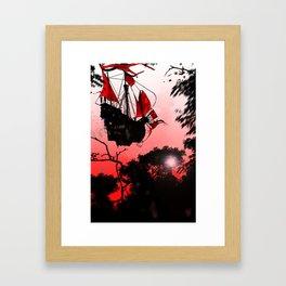 RED SAILS - GMB CHOMICHUK Framed Art Print