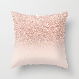 Rose Gold Throw Pillows Society6