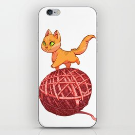 Kitten On Yan iPhone Skin