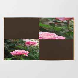Pink Roses in Anzures 5  Blank Q3F0 Rug