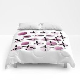 Bubble & line 01 Comforters