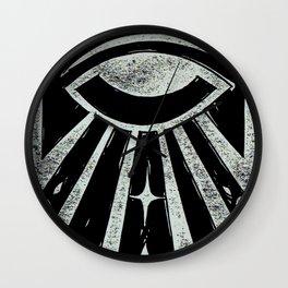 Clarity (Black) Wall Clock