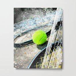 Tennis art 4 Metal Print