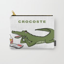 Crocoste Carry-All Pouch