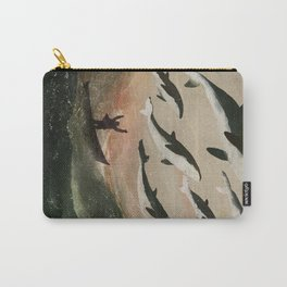 Minke Whale Migration Carry-All Pouch