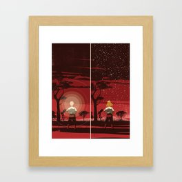 Know-it-all? Framed Art Print