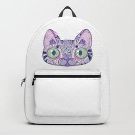 Chromatic Cat II (Purple, Blue, Pink) Backpack