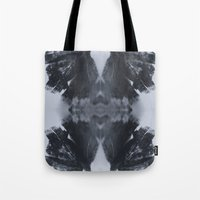 moth Tote Bags featuring Moth  by Ali Prentice