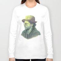 sherlock holmes Long Sleeve T-shirts featuring sherlock holmes by Doruktan Turan