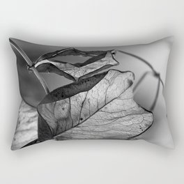 the things left unsaid Rectangular Pillow