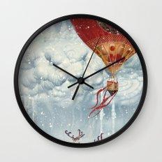 WinterFly Wall Clock