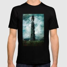 The Dark Tower Black Mens Fitted Tee 2X-LARGE