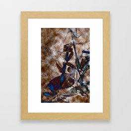 Icescape Abstract Framed Art Print
