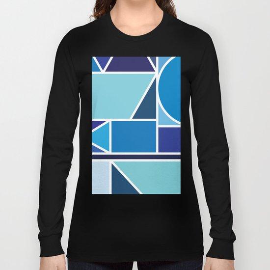 Kaku Blue Long Sleeve T-shirt