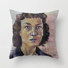 Philippa Foot Throw Pillow