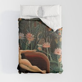 Henri Rousseau - The Dream Duvet Cover
