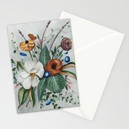 Moody Magnolia Arrangement Stationery Cards