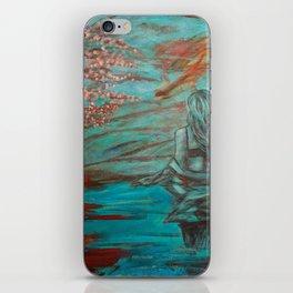 Wading Woman iPhone Skin