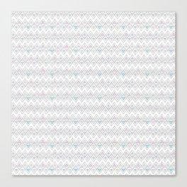 Abstract pyramid Canvas Print