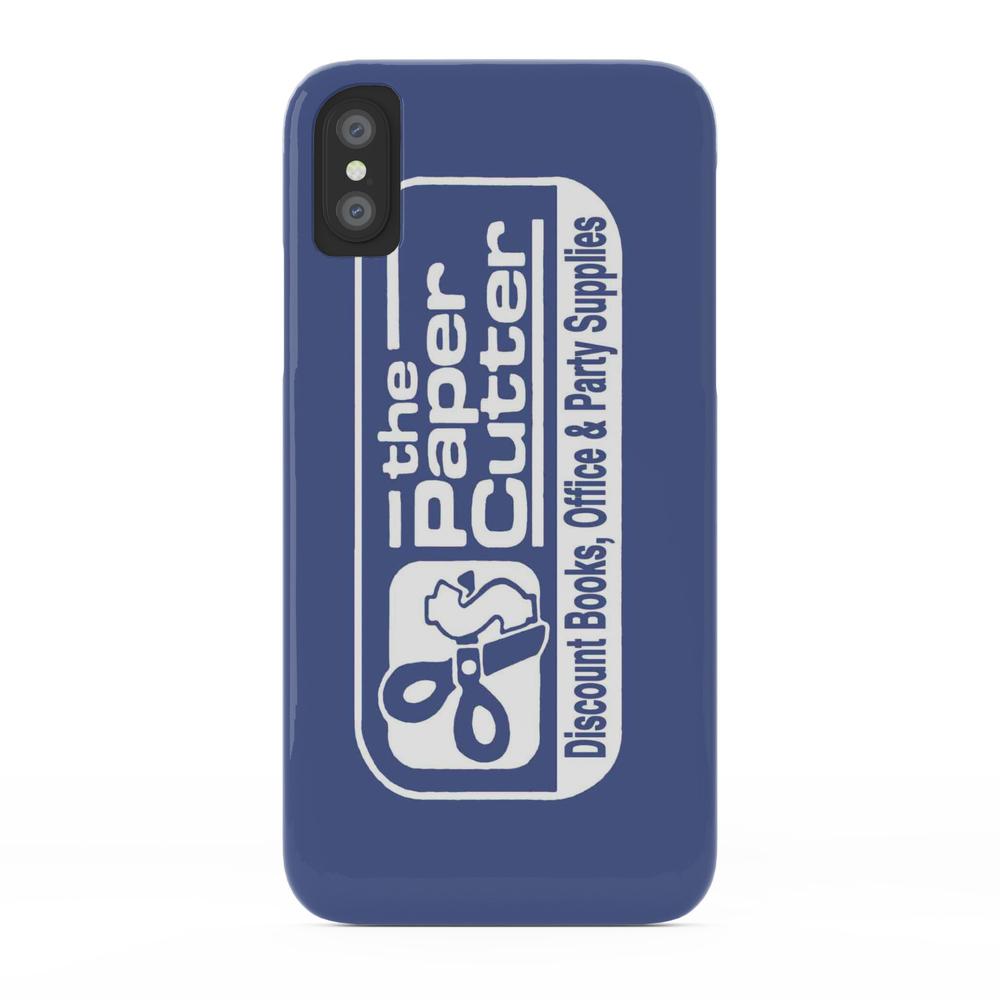 the Paper Cutter Blue Phone Case by gasstationburrito (PCS2965013) photo