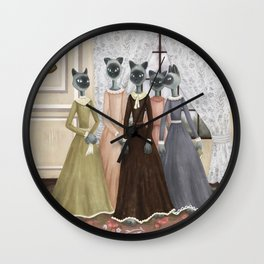 Bennet Sisters Wall Clock