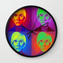 Celebrity Sunday - Andy Warhola on Andy Warhola Wall Clock