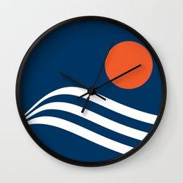 Swell - Marina Wall Clock