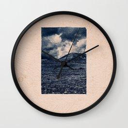 CLASSIC BLUE / Volcanic Rocks 02 Wall Clock