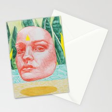 she is in the details Stationery Cards