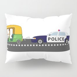 High Speed Chase Pillow Sham