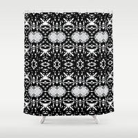 gothic Shower Curtains featuring Gothic #2 by Ornaart