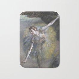 Edgar Degas - Dancer In Green Bath Mat