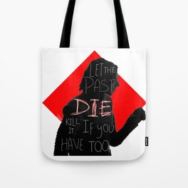 When galaxies collide [part 1] Tote Bag