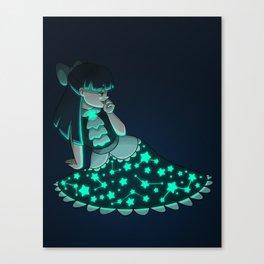 Personas Estrelladas: 06 Vestido Canvas Print