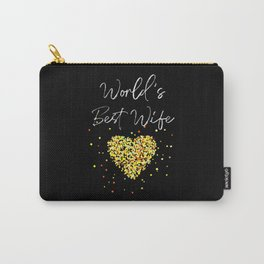 World's best Wife - Wedding Anniversary Carry-All Pouch