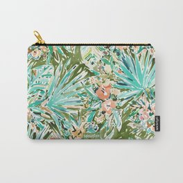 FAN OUT Tropical Palmetto Floral Carry-All Pouch