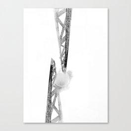 Electric moon Canvas Print