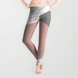 Shapes decor 2opposite. minimalist. line. stripes. Leggings