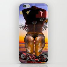 SUN SET PART II iPhone & iPod Skin