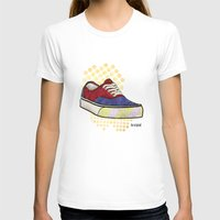 vans T-shirts featuring Man I Need Vans - Classic Sneaker Icon by Dave Conrey