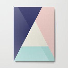 Modern and geometric art IV Metal Print