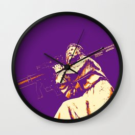 Bazooka Christ Wall Clock