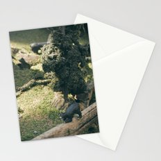 Temporary Happiness part 2 bear Stationery Cards