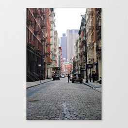 In the City Canvas Print