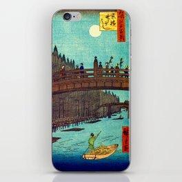 Beautiful Evening Across The Bridge iPhone Skin